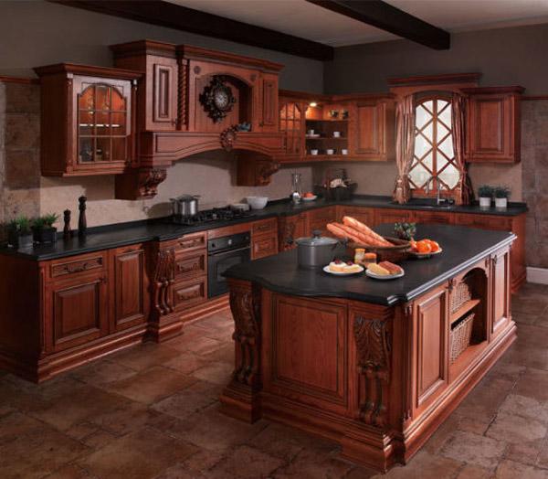 انواع طرح ها و مدل های کابینت کلاسیک - Classic cabinets 3