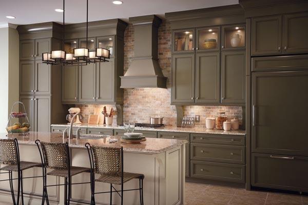 انواع طرح ها و مدل های کابینت کلاسیک - Classic cabinets 4