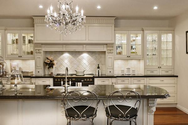 انواع طرح ها و مدل های کابینت کلاسیک - Classic cabinets 6