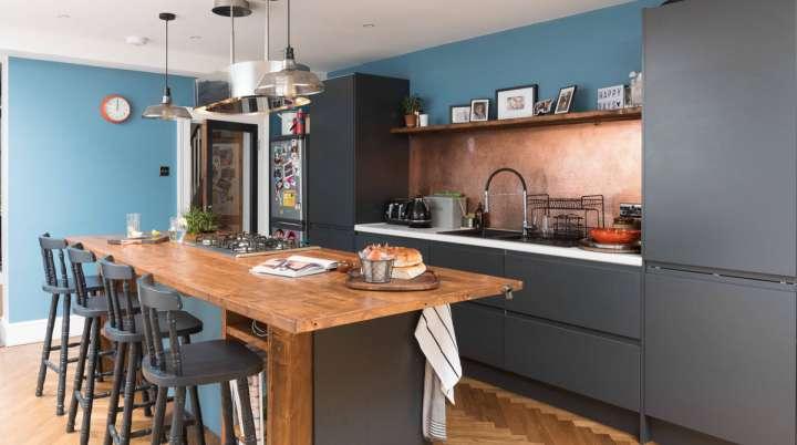 اکسسوری های مسی در دکوراسیون آشپزخانه