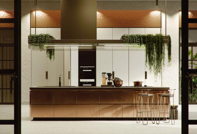 36 ایده طراحی آشپزخانه مسی