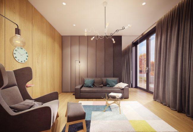 طراحی داخلی خانه ایی برای خانواده