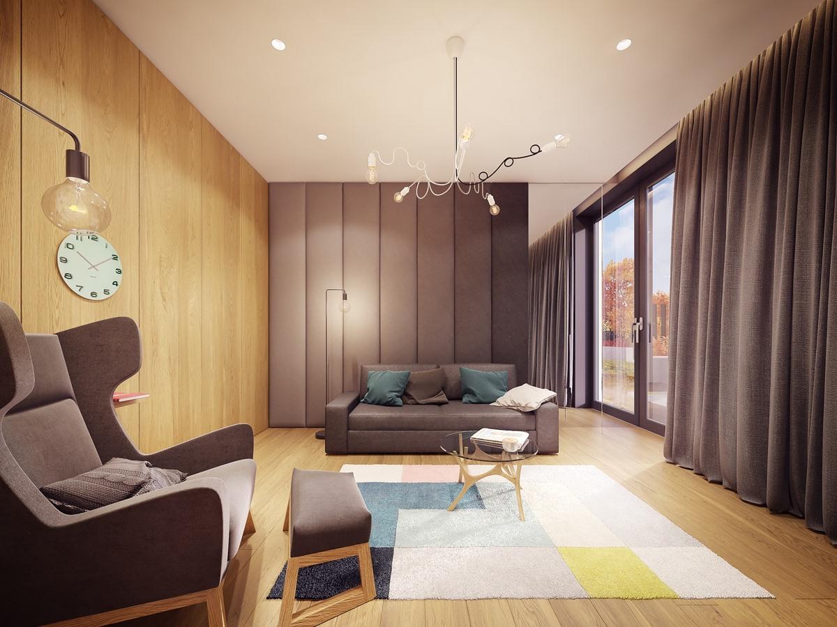 طراحی داخلی خانه ایی برای خانواده - Family home 1 1