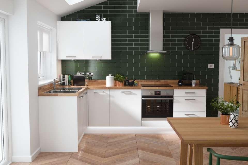33 ایده طراحی آشپزخانه سبز رنگ - Green Kitchens 10
