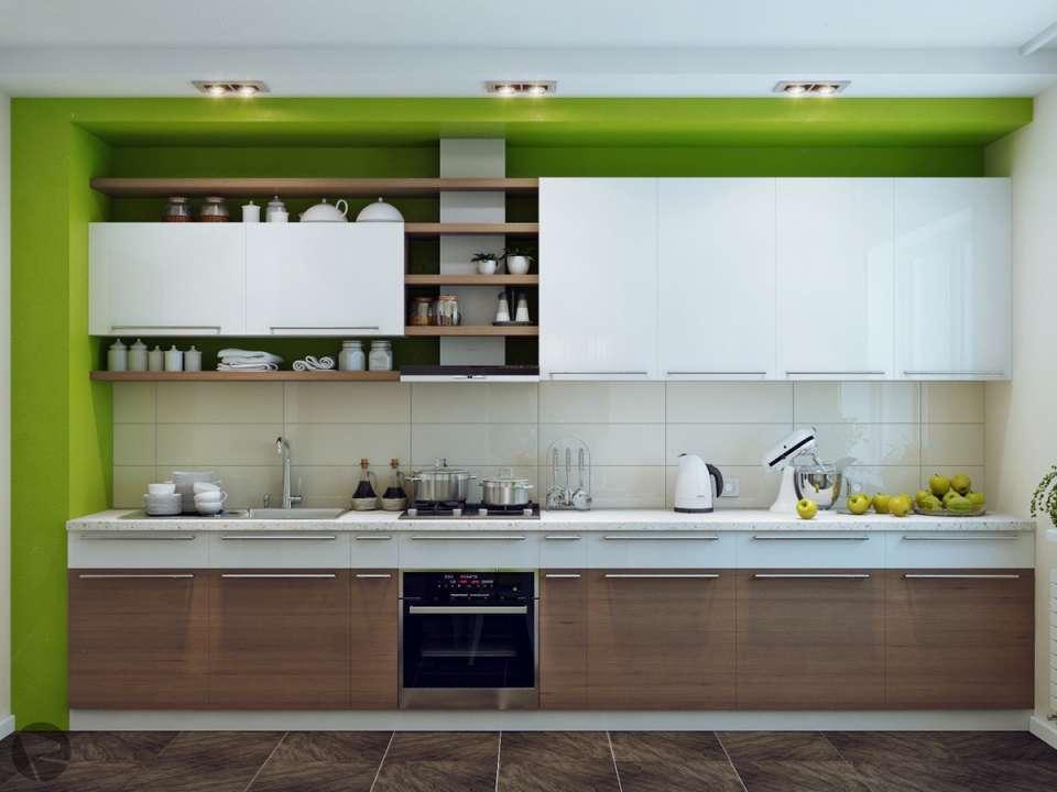 33 ایده طراحی آشپزخانه سبز رنگ - Green Kitchens 2