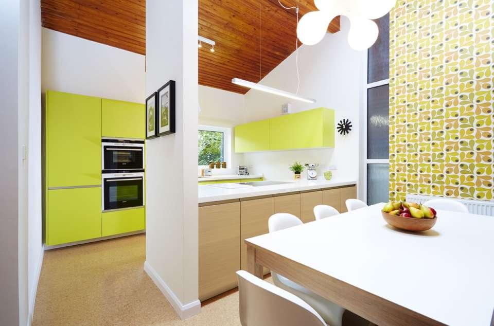 33 ایده طراحی آشپزخانه سبز رنگ - Green Kitchens 25