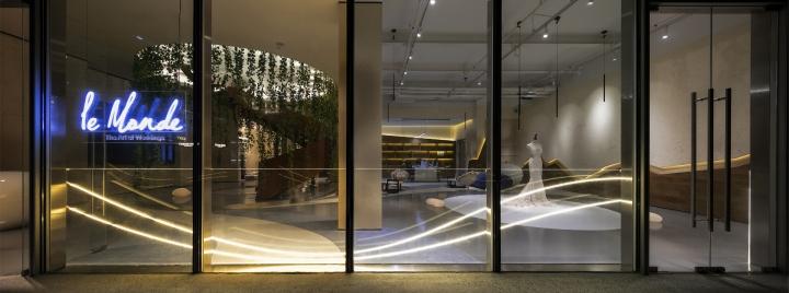 ایده طراحی مزون عروس