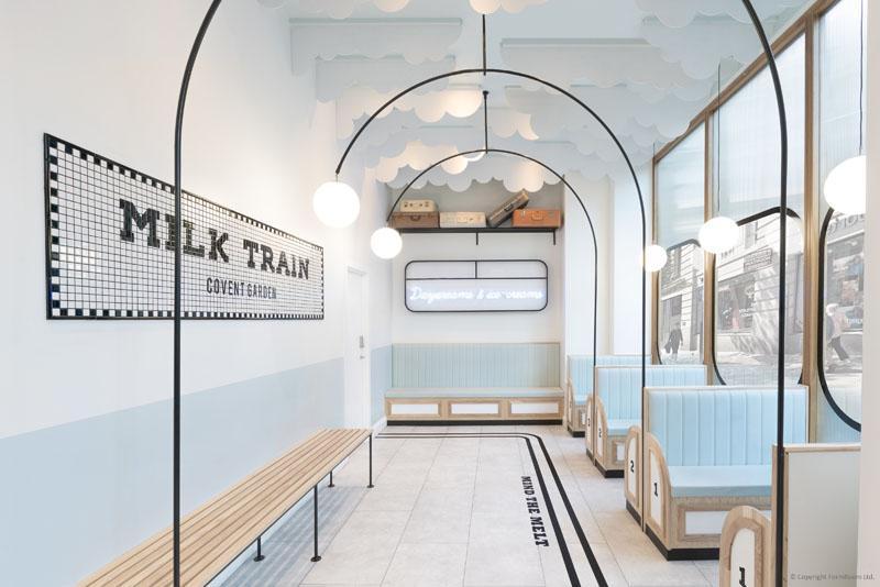طراحی داخلی کافه بستنی