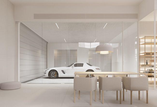 طراحی داخلی خانه مینیمال اما لوکس
