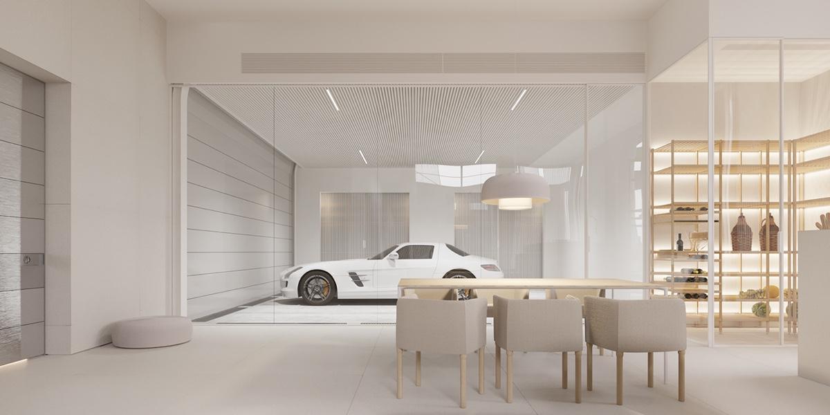 طراحی داخلی خانه مینیمال اما لوکس - Minimalist House 5 1