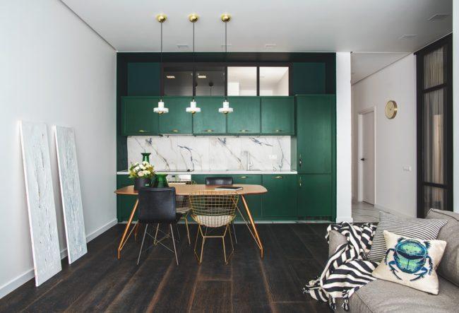 طراحی 30 آشپزخانه با کابینت یک طرفه