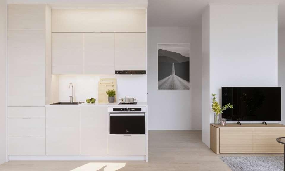 مدل کابینت آشپزخانه یک طرفه