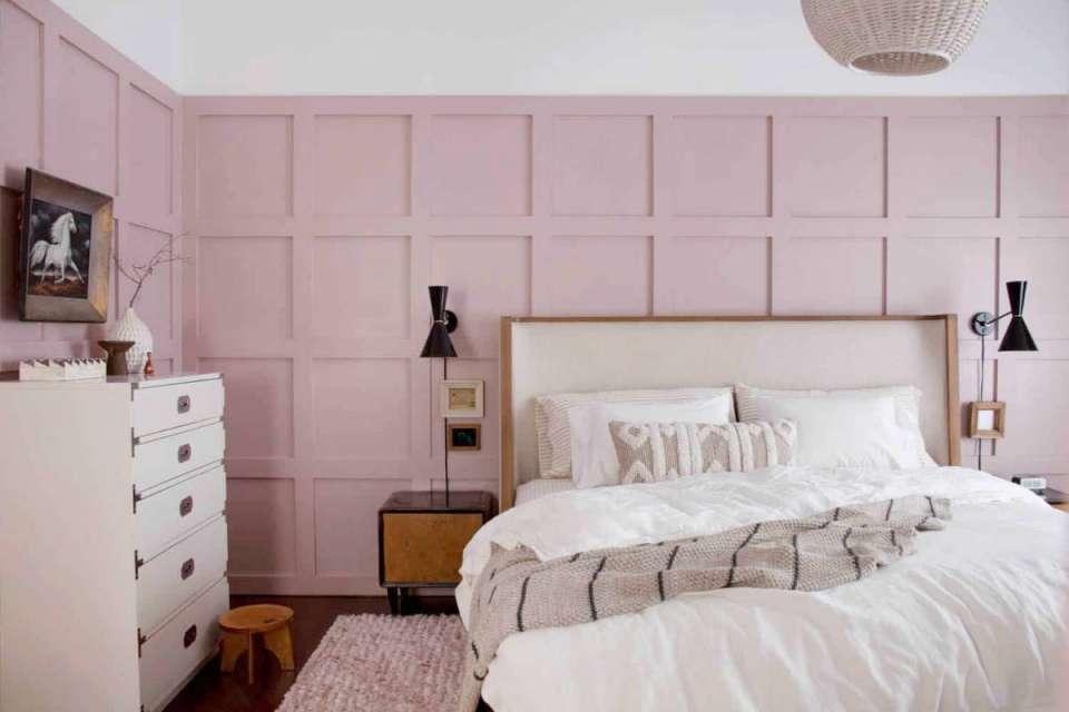 رنگ صورتی در دکوراسیون اتاق خواب