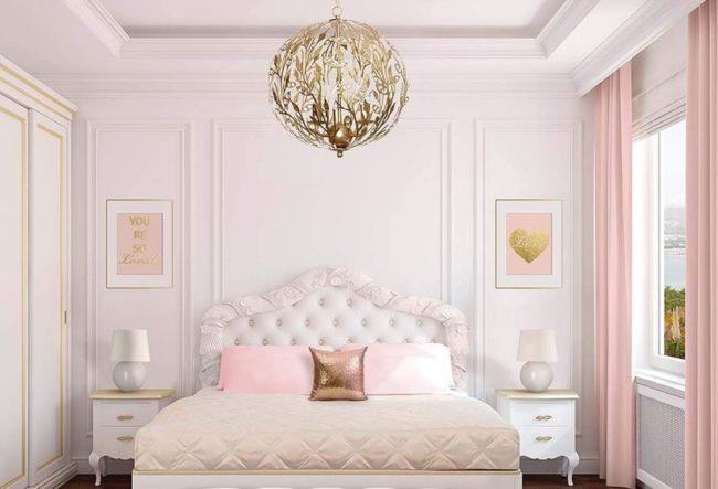 20 ایده دکوراسیون اتاق خواب صورتی