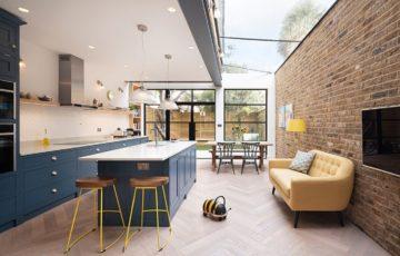 طراحی داخلی خانه با فضایی برای بازی