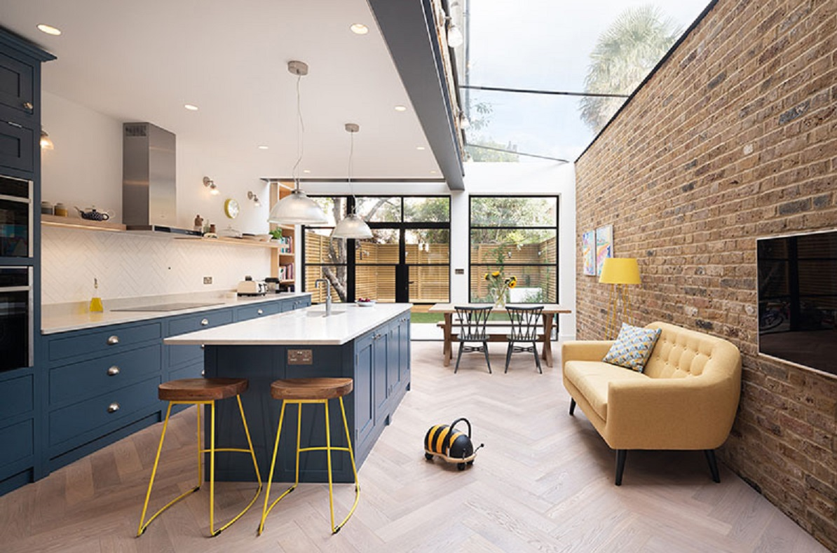 طراحی داخلی خانه با فضایی برای بازی - Playful Basement Home 7