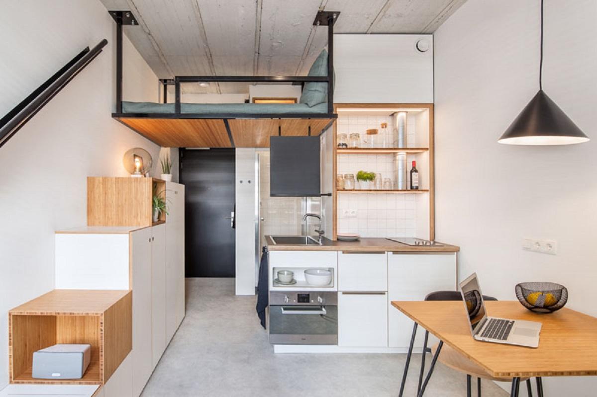 طراحی داخلی آپارتمان دانشجویی در هلند - Student Housing 1 1