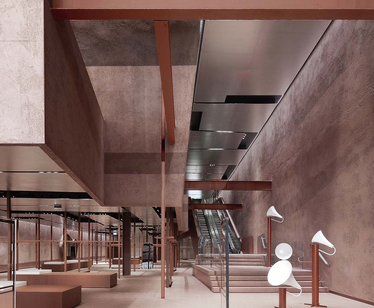 طراحی فروشگاه تجاری برند چینی UR در انگلستان - UR London Flagship Store 1 1