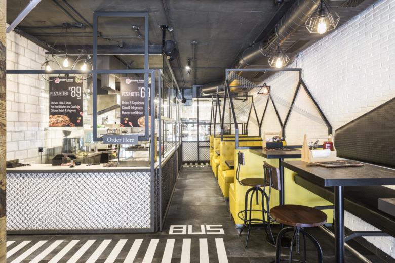 دکوراسیون کافه با ایده خیابان