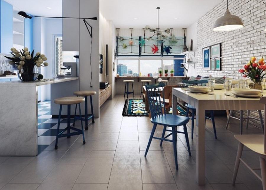 طراحی داخلی آپارتمان با تم دریایی - nautical themes apartments 16