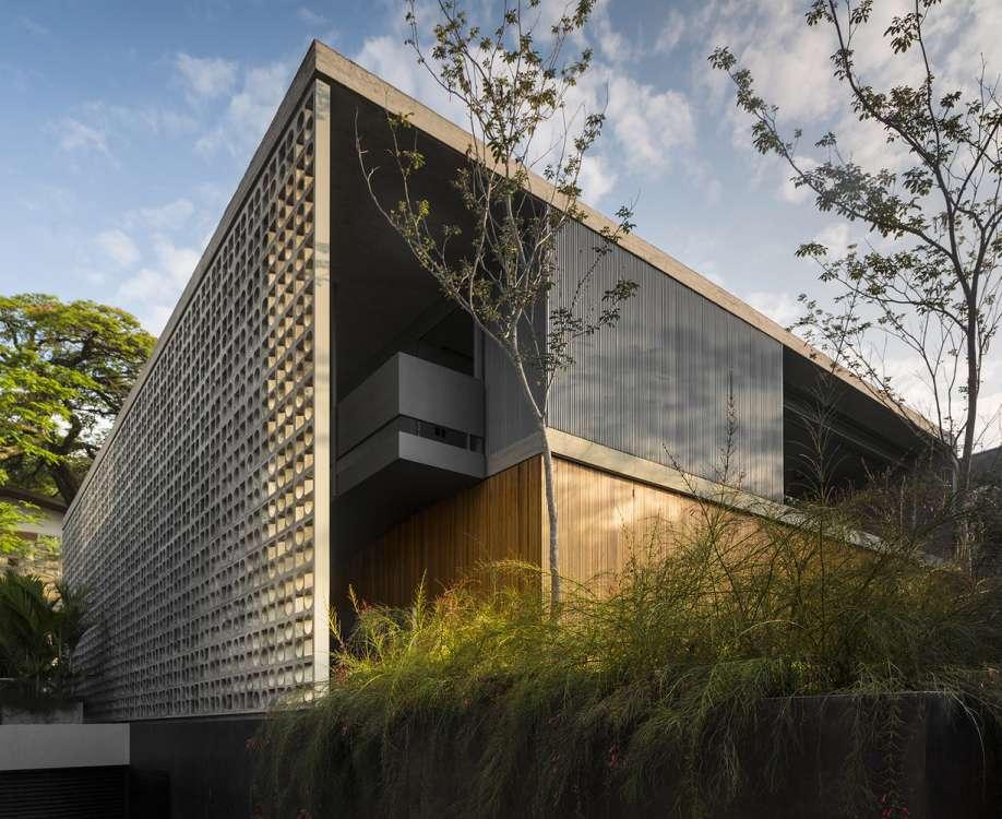 طراحی خانه مینیمال در برزیل - BB House 11