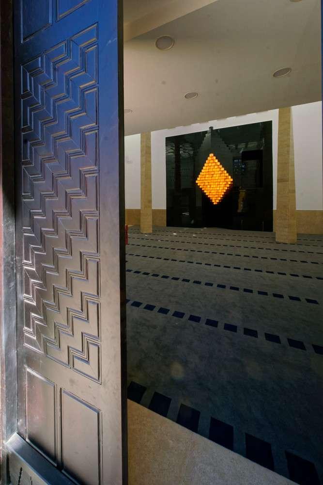 طراحی داخلی مسجد مدرن