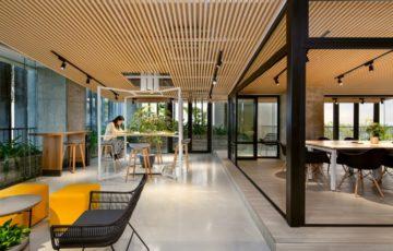 طراحی داخلی شرکت مد و فشن در ویتنام
