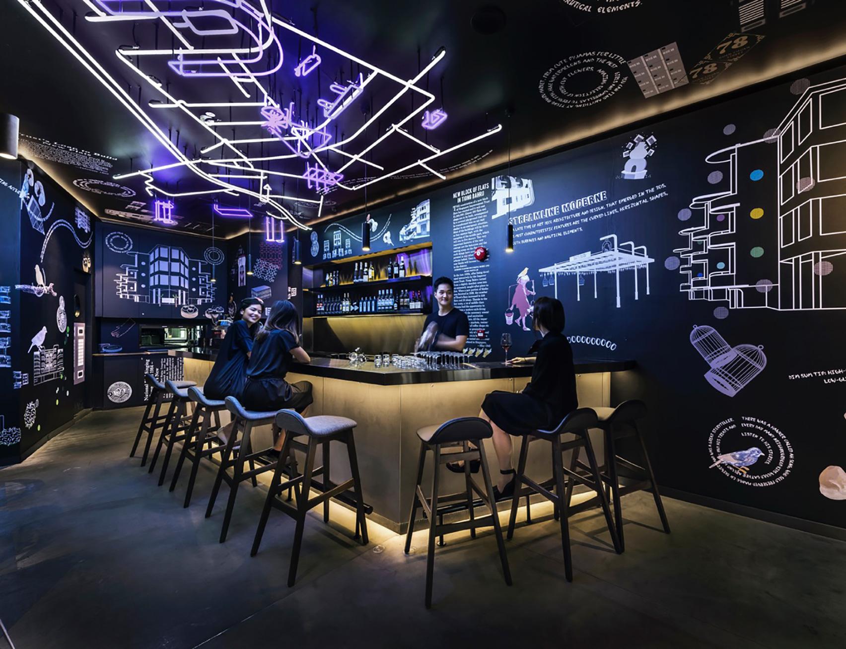 طراحی داخلی بوتیک هاستل - Cafe hostel COO 2 1