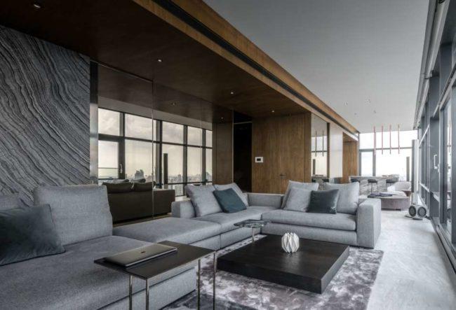 طراحی آپارتمان لوکس در تایلند