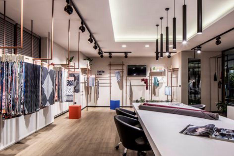 دکوراسیون دفتر طراحی لباس
