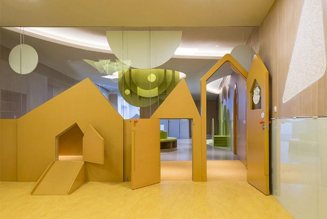 طراحی مدرسه ابتدایی با رویکرد ارتقا تخیل و یادگیری کودکان - Gymboree Shenzhen VIP School 11