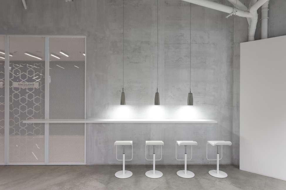 طراحی دفتر کار مینیمال