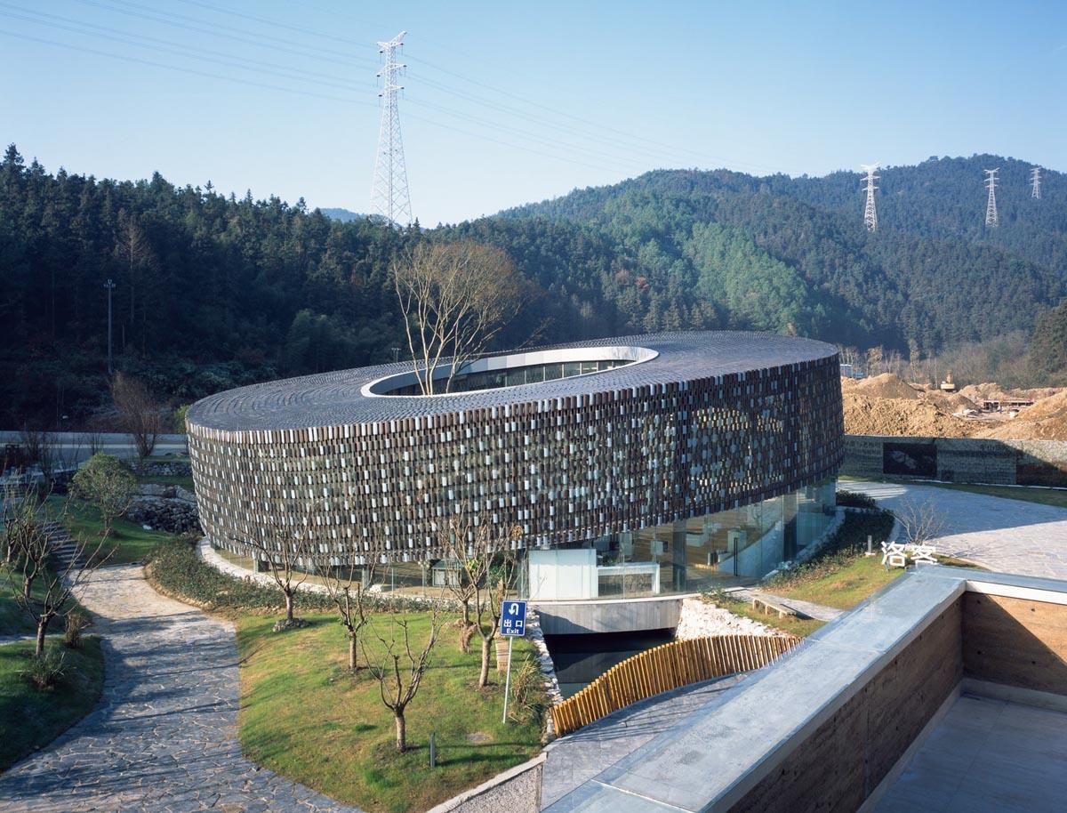 طراحی مرکز سرامیک در چین