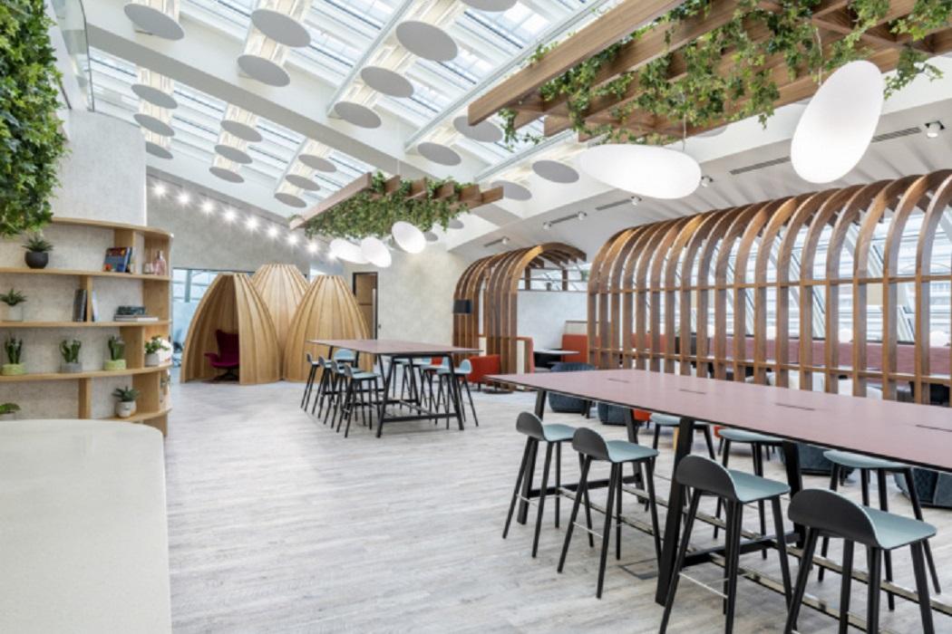 طراحی دفتر کار لوکس در لندن - LEO office 9
