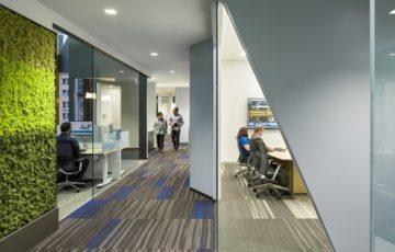 طراحی دفتر کار مایکروسافت در سان فرانسیسکو