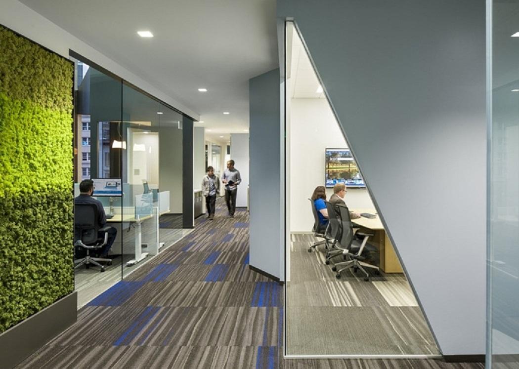 طراحی دفتر کار مایکروسافت در سان فرانسیسکو - Microsoft Offices 10