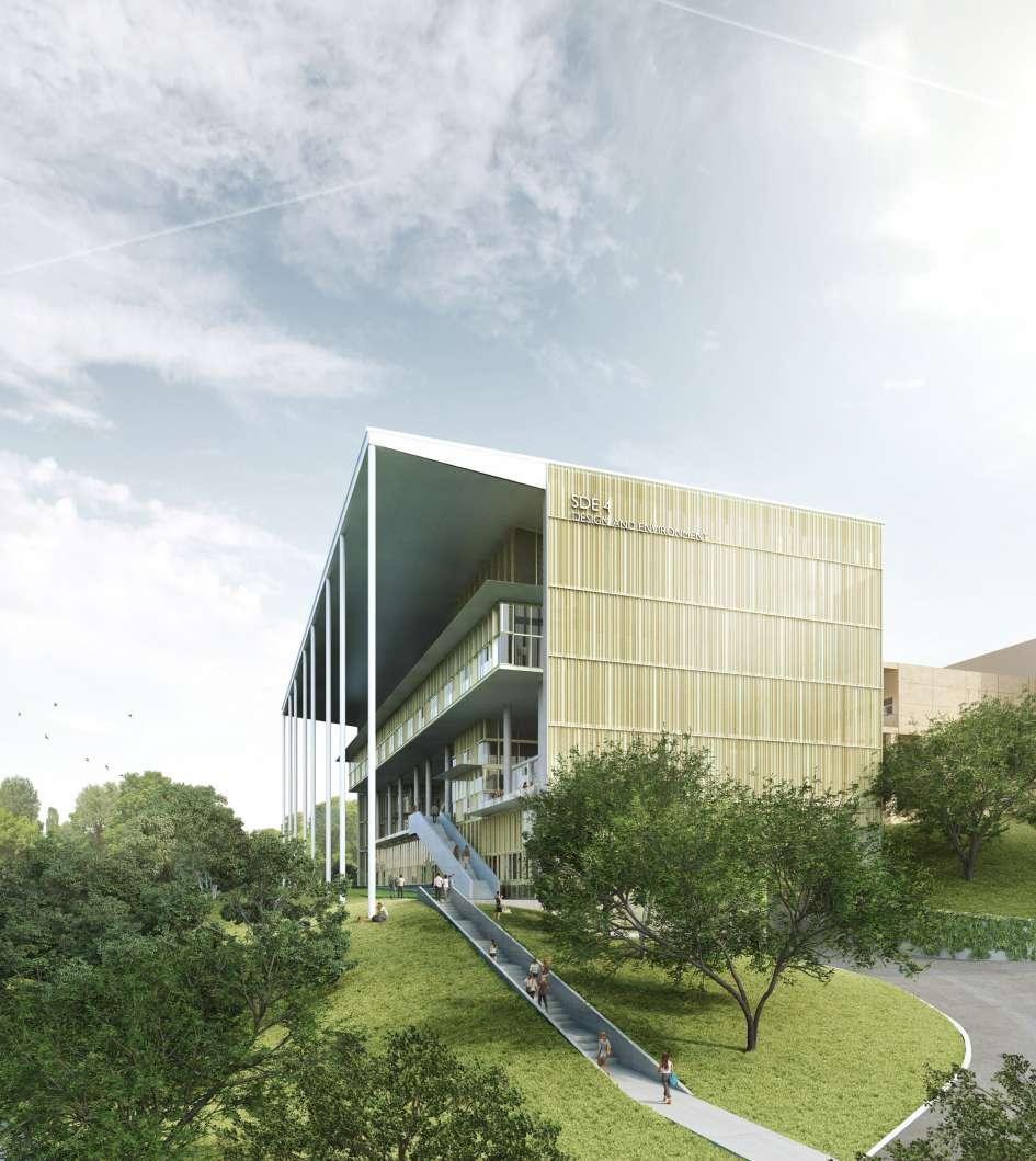 دانشگاه بین المللی سنگاپور با رویکرد معماری پایدار