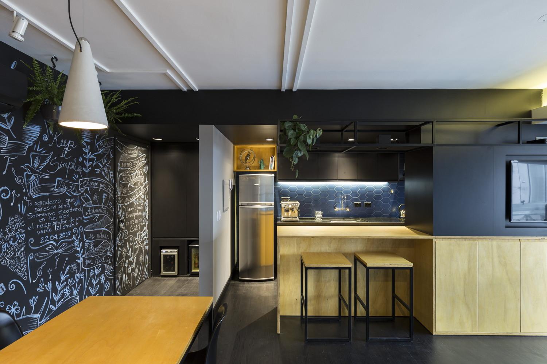 طراحی داخلی آپارتمان 64 متری - RE Apartment 1 1