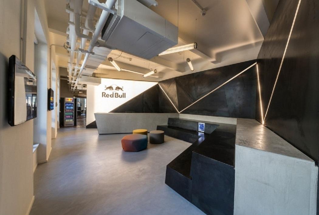 طراحی دفتر کار ردبول در میلان - Red Bull Offices 21