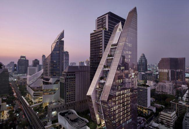 طراحی هتل بانکوک با سبک معماری معاصر