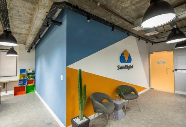 طراحی داخلی شرکت سانتو دیجیتال