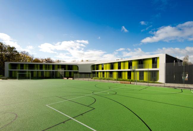 طراحی هاستل ورزشی در آلمان