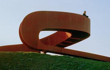 طراحی مجسمه شهری فولادی در هلند