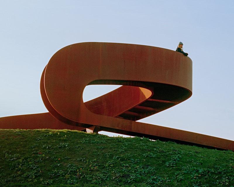 طراحی مجسمه شهری فولادی