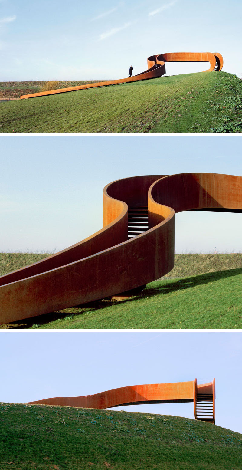 طراحی مجسمه شهری فولادی در هلند - Steel Public Sculpture 2