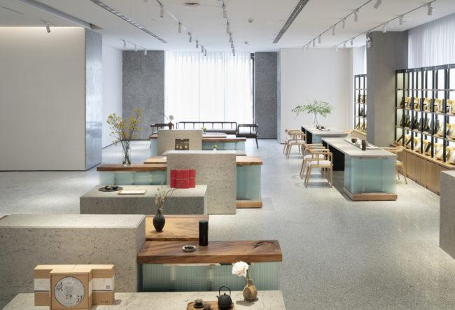 طراحی چایخانه مدرن در چین