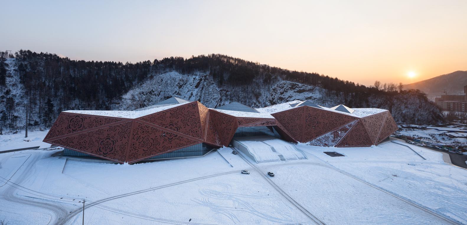 طراحی مرکز علمی و فرهنگی در چین - Tonghua Science Cultural Center 1 1