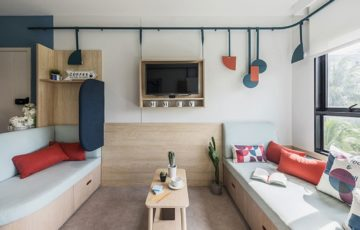 طراحی خوابگاه دانشجویی در تایلند