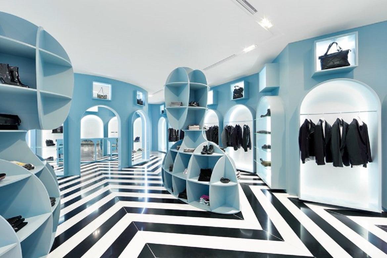 طراحی داخلی فروشگاه لباس به سبک ایتالیایی - Hit Gallery 6