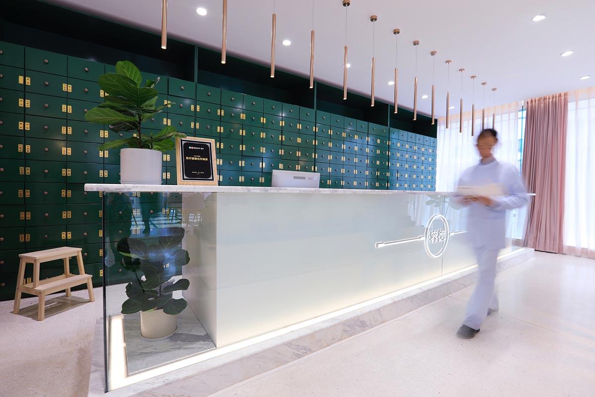 طراحی عطاری و کلینیک طب سنتی در چین - RONDE TCM CLINIC 18